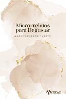 Cubierta para Microrrelatos para degustar