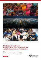 Cubierta para Diálogo de saberes desde Ciencias Económicas, Administrativas y Contables Vol. 5