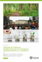 Cubierta para Diálogo de saberes desde Ciencias Económicas, Administrativas y Contables. Vol. 4