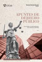 Cubierta para Apuntes del Derecho Público: Una mirada a la Administración de Justicia en Colombia