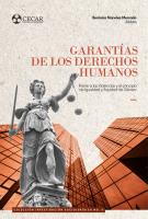 Cubierta para Garantías de los Derechos Humanos frente a las Violencias y el principio de Igualdad y Equidad de Género