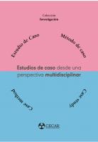 Cubierta para Estudios de caso desde una perspectiva multidisciplinar